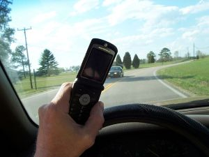 Cell Phone Texting While Driving, Source Wikipedia